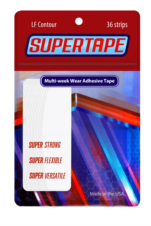 True Tape Super Tape Protez Saç Bandı Oval (3/4