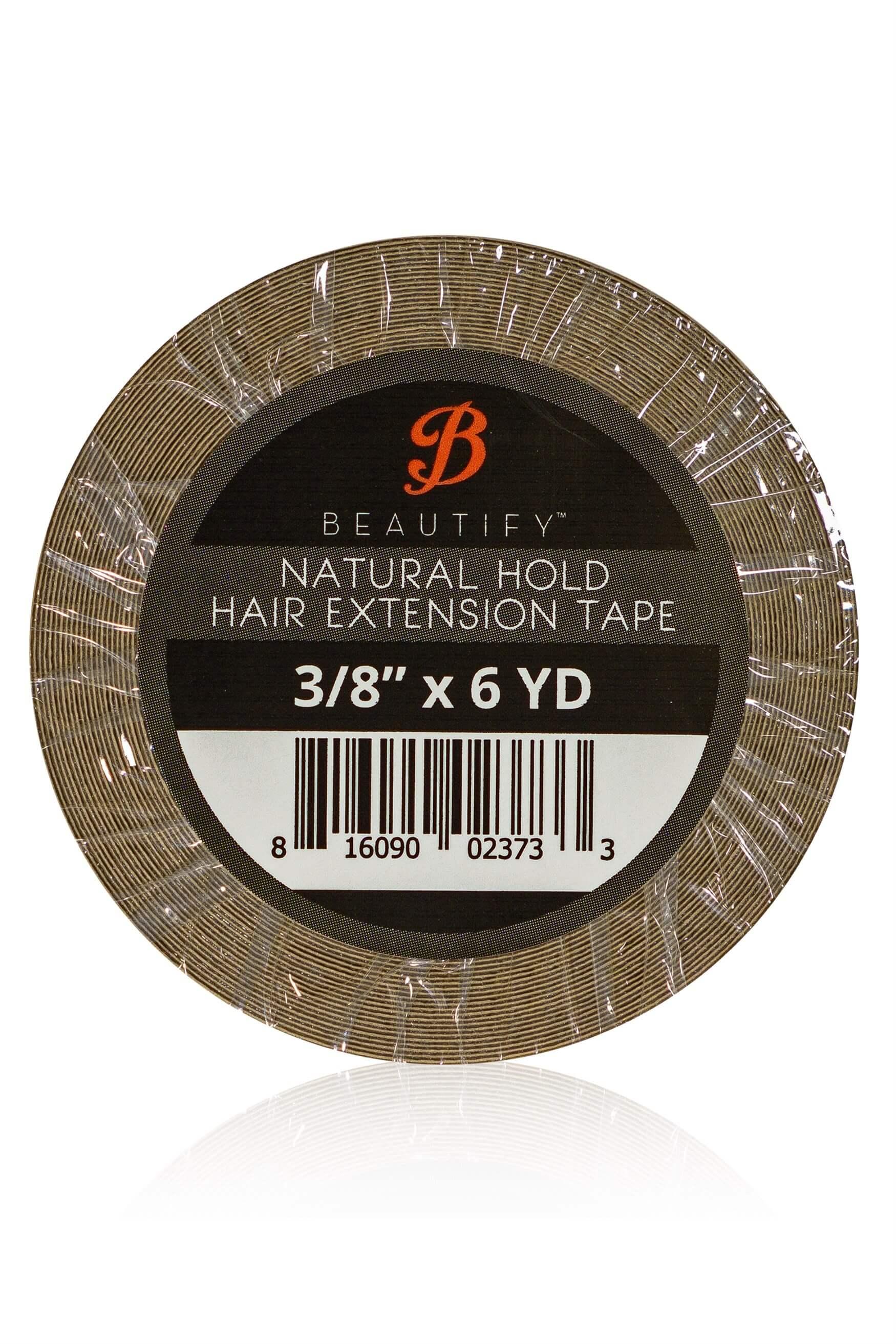 Walker Tape BEAUTIFY Natural Hold Hair Extension - Bant Kaynak Bandı Rulo 3/8'' x 6 yds (1 cm x 5,48m)